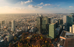 Stunning view Tokyo cityscape, Tokyo, Japan Stock Photography