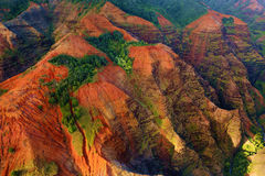 Stunning view into Waimea Canyon Royalty Free Stock Image