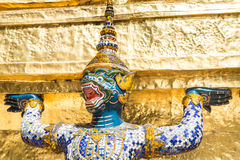 Stunning Wat Phra Kaew Royalty Free Stock Images