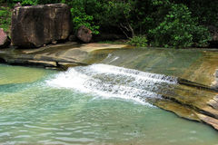 Stunning water creek and nature beauty, India Royalty Free Stock Photography