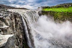 Stunning waterfall Dettifoss, Iceland Stock Photo
