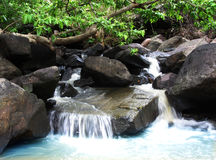 Stunning waterfall and nature beauty, India Royalty Free Stock Photo