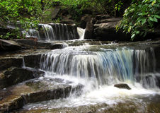 Stunning waterfall and nature beauty, India Royalty Free Stock Photos