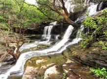 Stunning waterfall and nature beauty, India Stock Photo