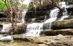 Stunning waterfall and nature beauty, India Royalty Free Stock Photography