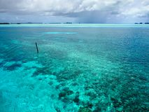Stunning waters of Palau, Micronesia in the Pacific Stock Photo