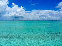 Stunning waters of Palau, Micronesia in the Pacific Royalty Free Stock Photography