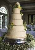 Stunning wedding cake Stock Photo