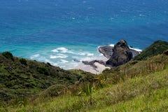 Stunning wild beach with rocks Stock Photography