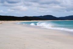 Stunning wild beach surf Royalty Free Stock Photos