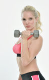 Stunning young female fitness model -  studio Stock Images