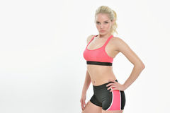 Stunning young female fitness model -  studio Stock Image