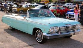 Stunningly όμορφο το 1964 Chevrolet Impala μετατρέψιμο Στοκ εικόνα με δικαίωμα ελεύθερης χρήσης