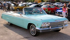 Stunningly Beautiful 1964 Chevrolet Impala Convertible Royalty Free Stock Image