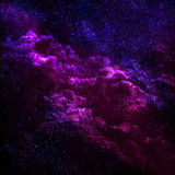 Stunningly beautiful cosmic landscapes of the universe. Stock Images