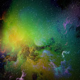 Stunningly beautiful cosmic landscapes of the universe. Royalty Free Stock Photo
