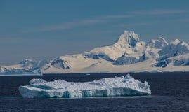 Iceberg Off the Coast of Antarctica stock image