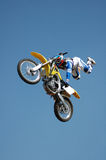 Stunt Biker Royalty Free Stock Photos