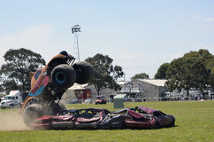 Stunt Driving. Monster Truck, Scooby-Doo! came out from USA to preform at the Royal Geelong Show. The show is now in it`s 155th Year. And runs for four days Stock Images