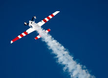 Stunt flying Royalty Free Stock Photos