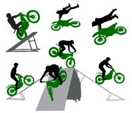 Stunt Man - 1 Royalty Free Stock Photography