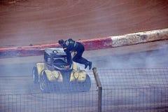 Stunt man Stock Photography
