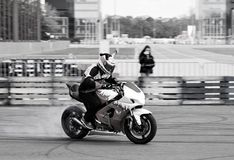 Sport motorcycle Royalty Free Stock Photo