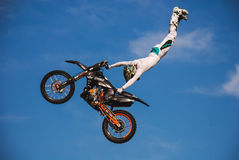 Stunt. Photo of a stunt by ktm Royalty Free Stock Image
