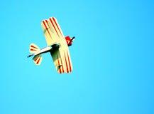 Stunt Pilot Plane Stock Image