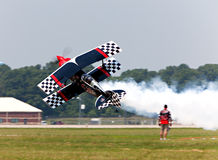 Stunt Plane Royalty Free Stock Photography