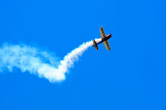 Stunt Plane Royalty Free Stock Images