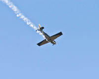Stunt plane Royalty Free Stock Photos
