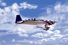 Stunt Plane Royalty Free Stock Image