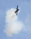 Stunt Plane performing at the 2015 MCAS Airshow Royalty Free Stock Photography