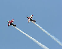 Stunt Planes Royalty Free Stock Image
