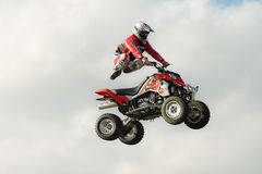 Stunt rider Stock Photography