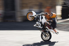 Stunt Show  Royalty Free Stock Photography