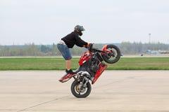 Stuntriding Image libre de droits