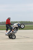Stuntriding Stock Photo
