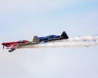 Stuntvliegtuigen die bij 2015 MCB Airshow presteren Stock Afbeelding