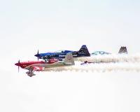 Stuntvliegtuigen die bij 2015 MCB Airshow presteren Royalty-vrije Stock Afbeelding