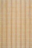 Stuoia di bambù Fotografie Stock