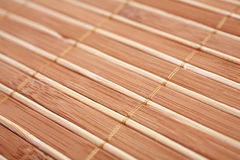 Stuoia di bambù Fotografia Stock Libera da Diritti