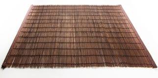 Stuoia di bambù - alimento del supporto fotografie stock libere da diritti