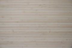 Stuoia di bambù incollata alla parete Immagini Stock Libere da Diritti
