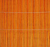 Stuoia di bambù - struttura Fotografie Stock