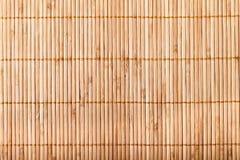 Stuoia di bambù Fotografia Stock