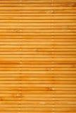 Stuoia di legno Fotografie Stock Libere da Diritti