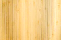 Stuoia di posto di bambù Immagini Stock
