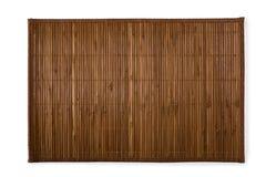 Stuoia di posto di bambù per i sushi Fotografia Stock